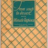 "1928 - ""Minute Tapioca"" Recipes Book"