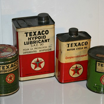 Texaco oil can collection part II - Petroliana