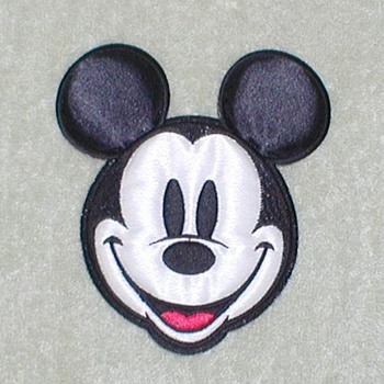 Mickey Mouse Iron-on Patch
