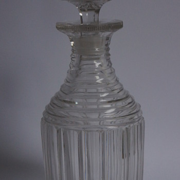 A Regency Decanter - Art Glass
