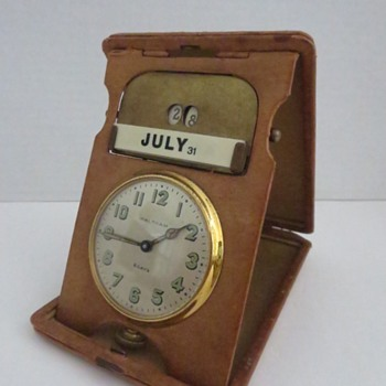 Waltham 8-Day Desk / Calendar Clock