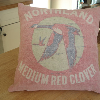 Cool Grain Sack Pillow