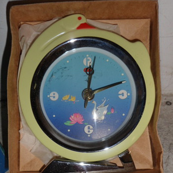 "Polaris ""Swan"" Animated Alarm Clock - Clocks"
