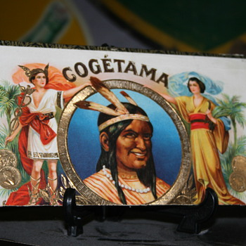 cogetama cigar box advertising - Tobacciana