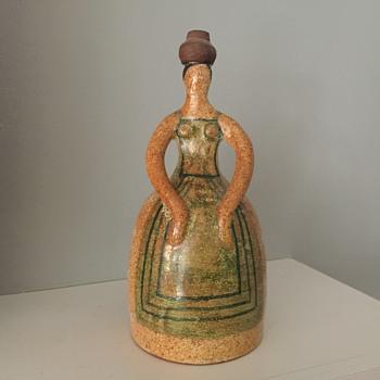 Alfaraz Mid-century Spanish figure - Pottery