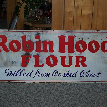 Robin Hood Flour Sign - Signs