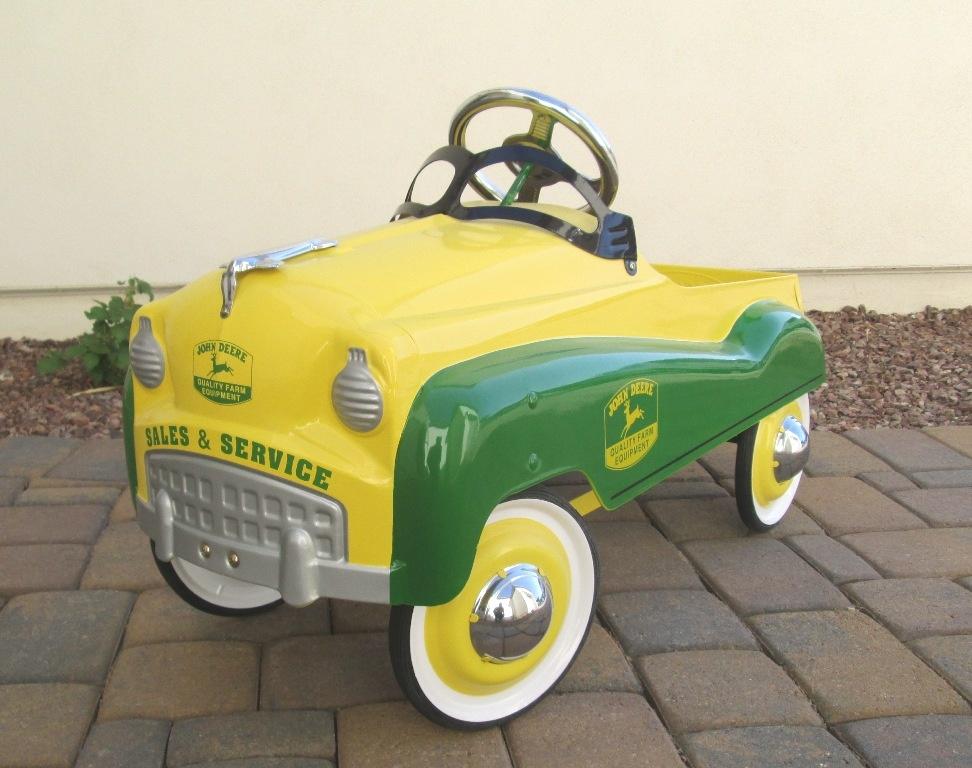 john deere pedal car collectors weekly. Black Bedroom Furniture Sets. Home Design Ideas
