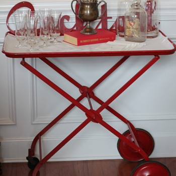 Vintage Bar Cart - Art Deco