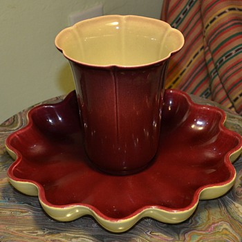 Oxblood Catalina and Batchelder Pottery - Art Pottery