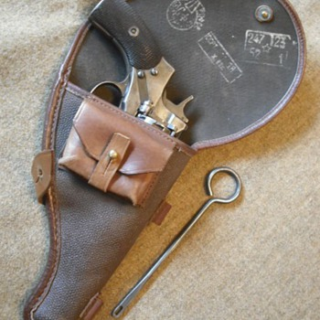 Soviet Nagant Revolver Holster - Military and Wartime