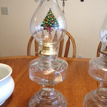 My mom's Hurricane Lamps - Lamps