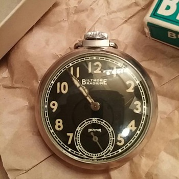 Biltmore Pocket Watch - Pocket Watches