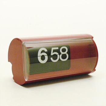 CIFRA 3 flap clock, Gino Valle (Solari, 1966)