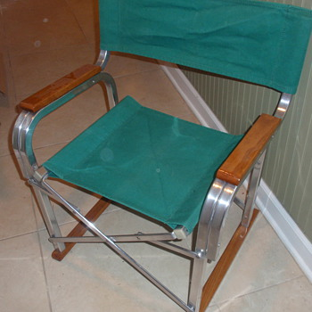 1940-50s folding chair. - Furniture