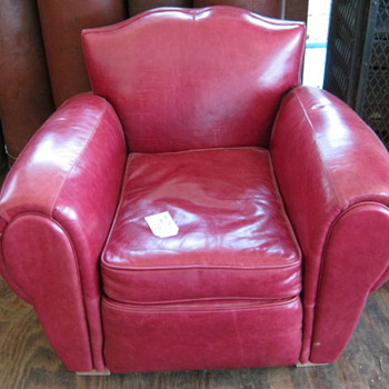 Leather easy chairs - Furniture