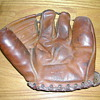 Three finger base ball glove
