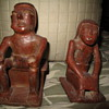 Ancient Mayan Artifacts Man & Woman