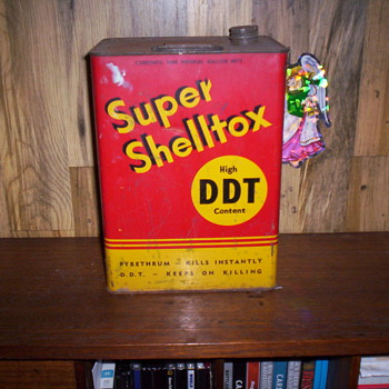 Shell tin  - Advertising