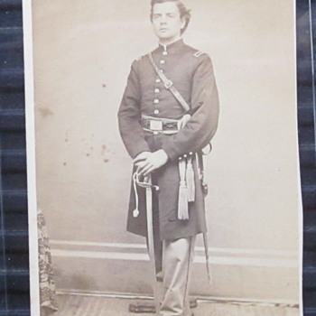 Lt. E.C. Pratt. 34th Mass, then 6th USCT - Photographs