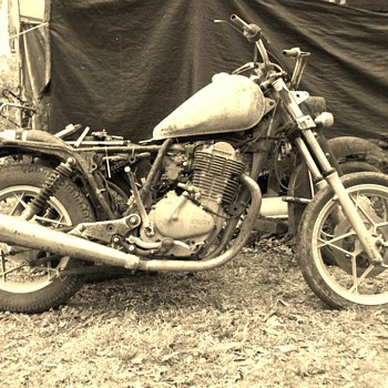 The beginning of Frankenbike - Motorcycles