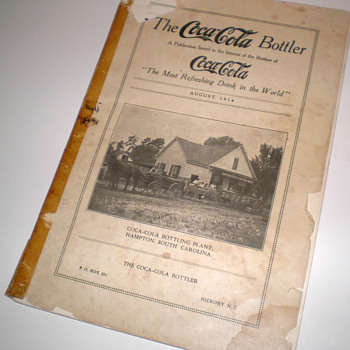 1914 Coca-Cola Bottler Magazine