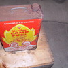 Canadian Tire Mor heat camp fuel tin can.