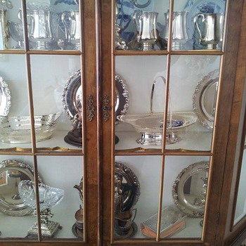 Our family silver collection.