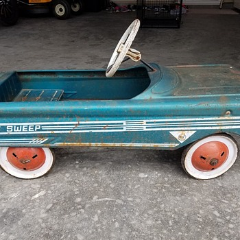 My first Pedal Car