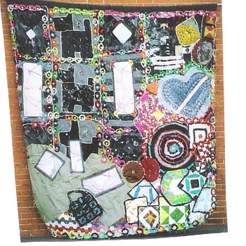 Jazz With A Needle and Thread Storyquilt - Rugs and Textiles