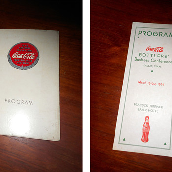 More vintage Coca-Cola paper items from my collection...