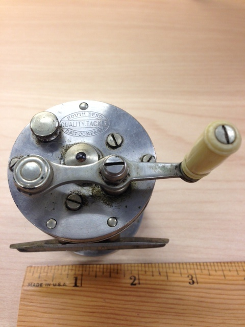 South bend bait co reel collectors weekly for South bend fishing reel