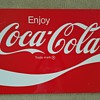 Coke sign in great condition - a great find!