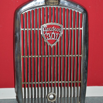 peugeot grille 1933 - Classic Cars