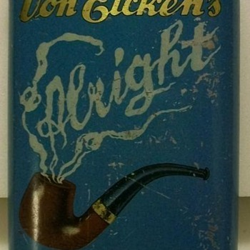 Tobacco Pocket Tins International