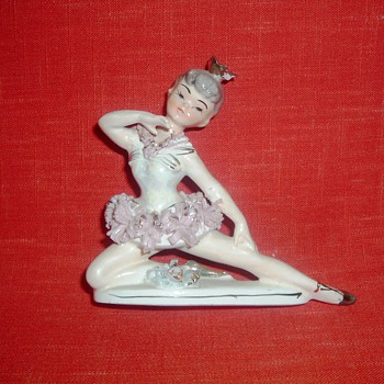 Ceramic Ballerina - Figurines
