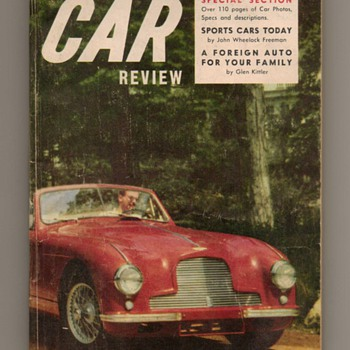 1954 International Car Review (First Issue) - Paper