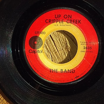 """""Up On Cripple Creek She Sends Me..And If I Spring A Leak She Mends Me..."" - Records"