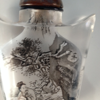 Dont know from what Period or Chinese Designer on this Snuff Bottle? - Bottles