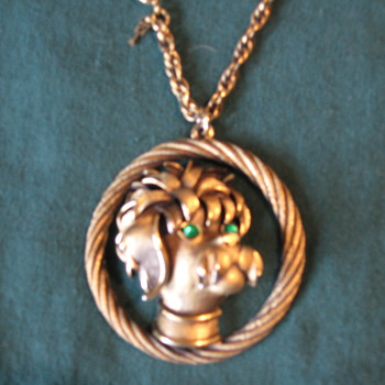 My 1st piece of vintage jewelry, Trifari pendant - Costume Jewelry