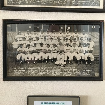 1949 Brooklyn Dodgers Team Photo