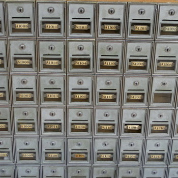 Antique Postal Unit