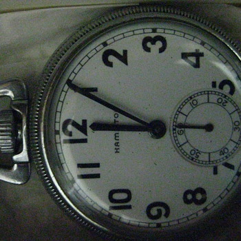 1941 WW11 Govt Issued Naval Comparing Pocket Watch - Pocket Watches
