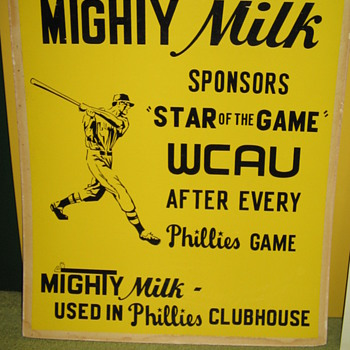 Abbotts Dairy , Abbott's Dairy , Mighty Milk , Philadelphia sports , Phillies - Baseball