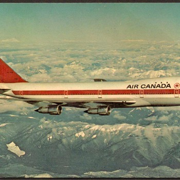 1976 - Air Canada Postcard - Postcards