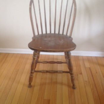 Old Farm House Chairs??