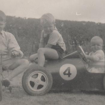 Racing Pedal Car 1950 - Toys