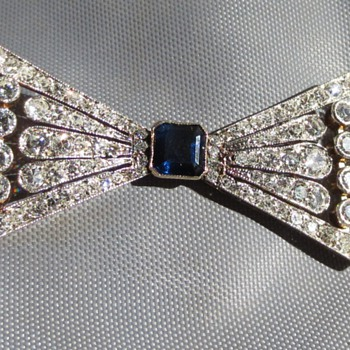 Art Deco brooch - Fine Jewelry