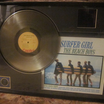 Beach Boys Surfer Girl Gold Lp