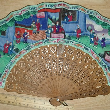 Antique Hand Fans - Accessories