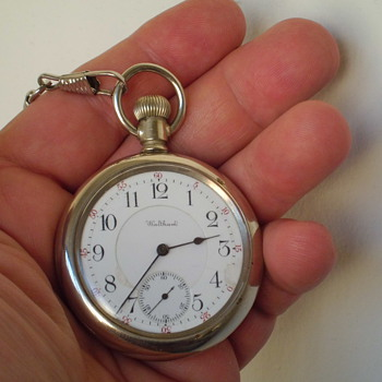 neat 1901 Waltham 16 size open face pocket watch - Pocket Watches